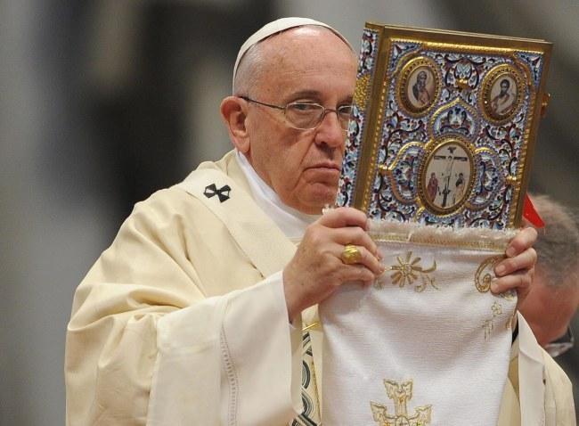 Papież Franciszek /PAP/EPA/GIORGIO ONORATI /PAP/EPA