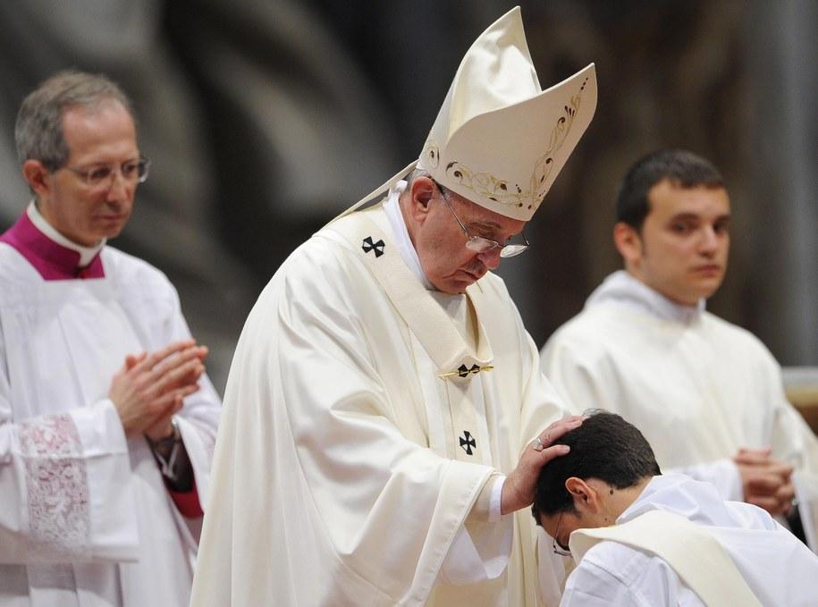 Papież Franciszek /GIORGIO ONORATI /PAP/EPA
