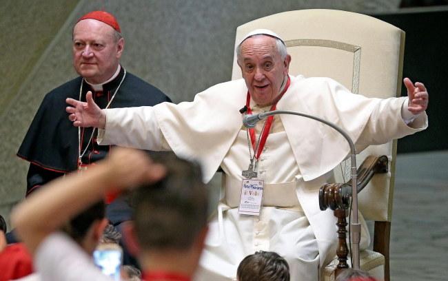 Papież Franciszek /PAP/EPA/ALESSANDRO DI MEO /PAP/EPA