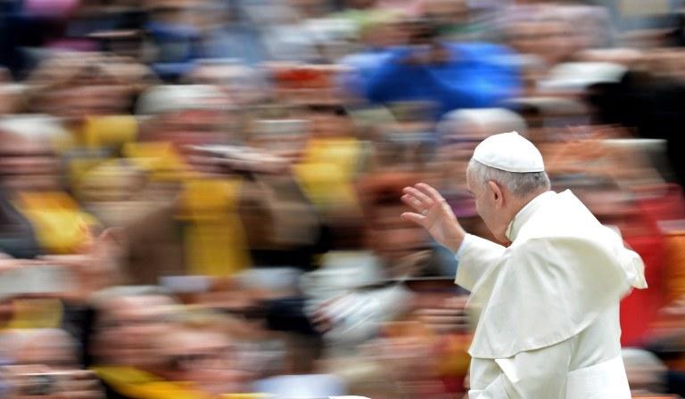 Papież Franciszek /FILIPPO MONTEFORTE / AFP /AFP