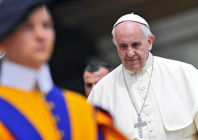 papież Franciszek /EPA/GIORGIO ONORATI /PAP/EPA