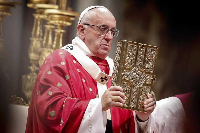 Papież Franciszek /EPA/GIUSEPPE LAMI /PAP/EPA