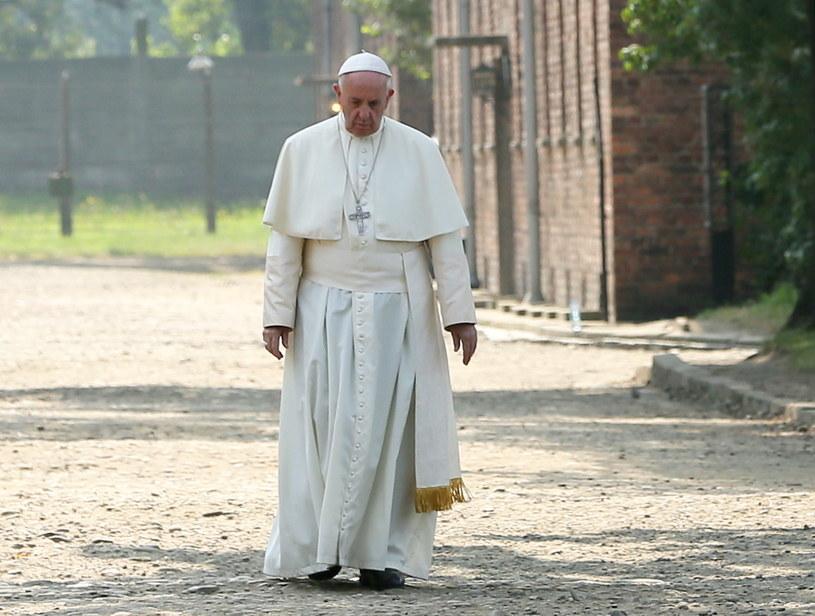 Papież Franciszek /Paweł Supernak /PAP/EPA