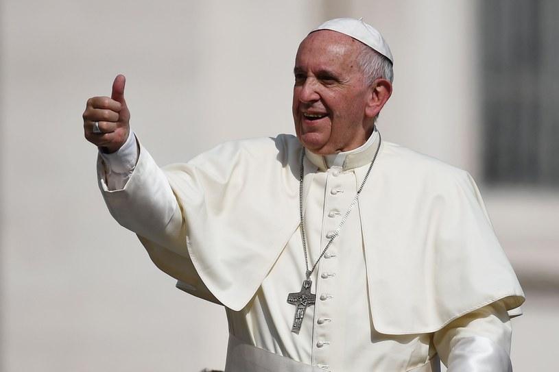 Papież Franciszek /GABRIEL BOUYS /East News