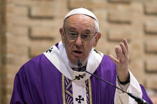 Papież Franciszek /PAP/EPA/ANGELO CARCONI /PAP/EPA