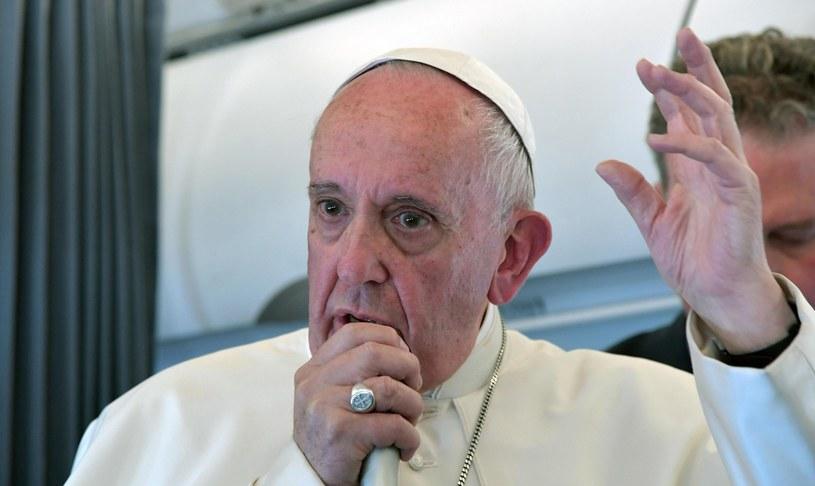 Papież Franciszek /TIZIANA FABI /PAP/EPA