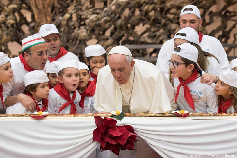 Papież Franciszek /OSSERVATORE ROMANO  /Agencja FORUM