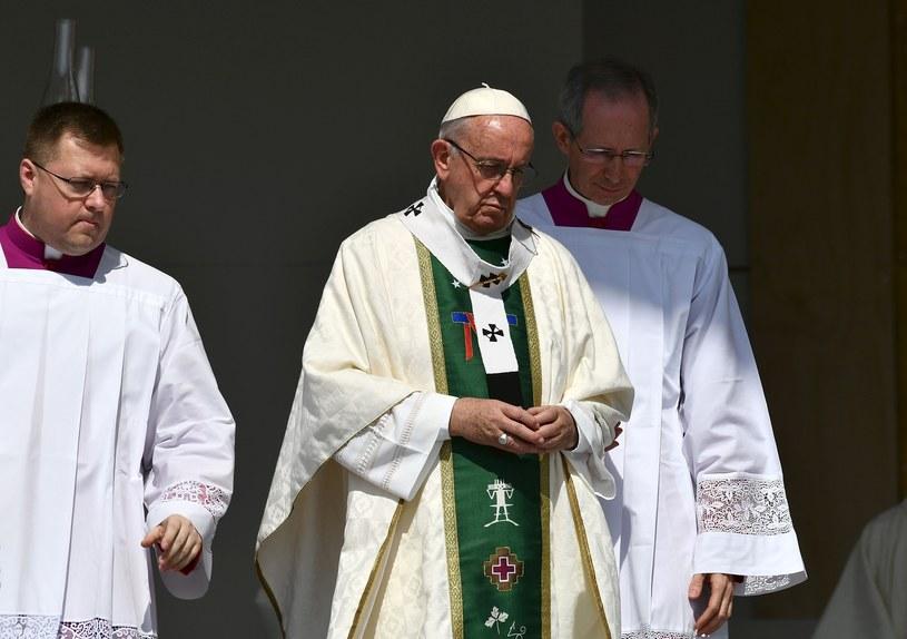 Papież FranciszeK /VINCENZO PINTO/AFP /East News