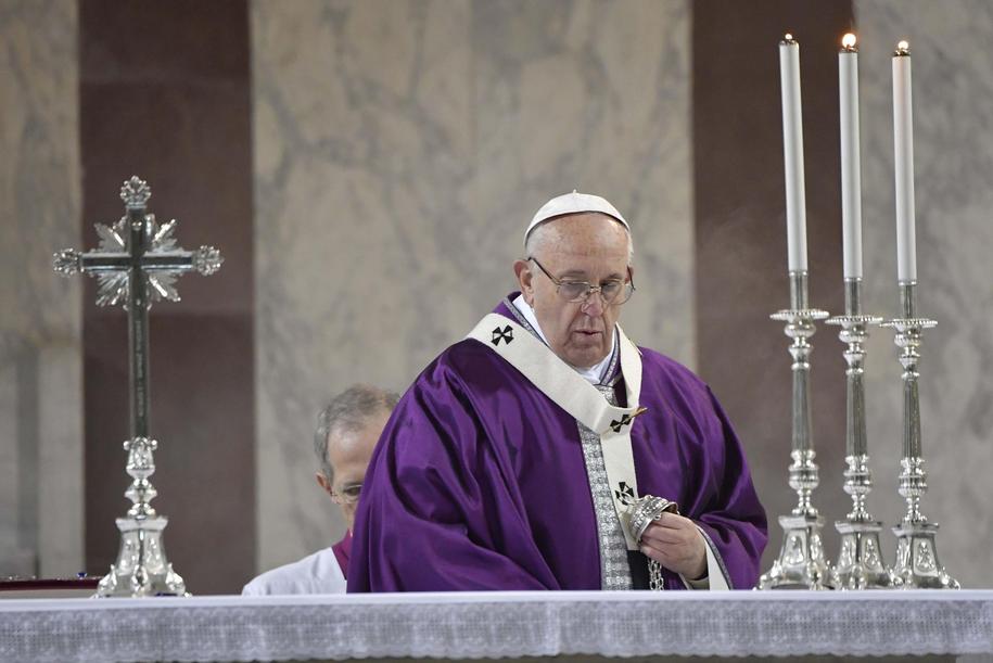 Papież Franciszek /OSSERVATORE ROMANO / HANDOUT /PAP/EPA