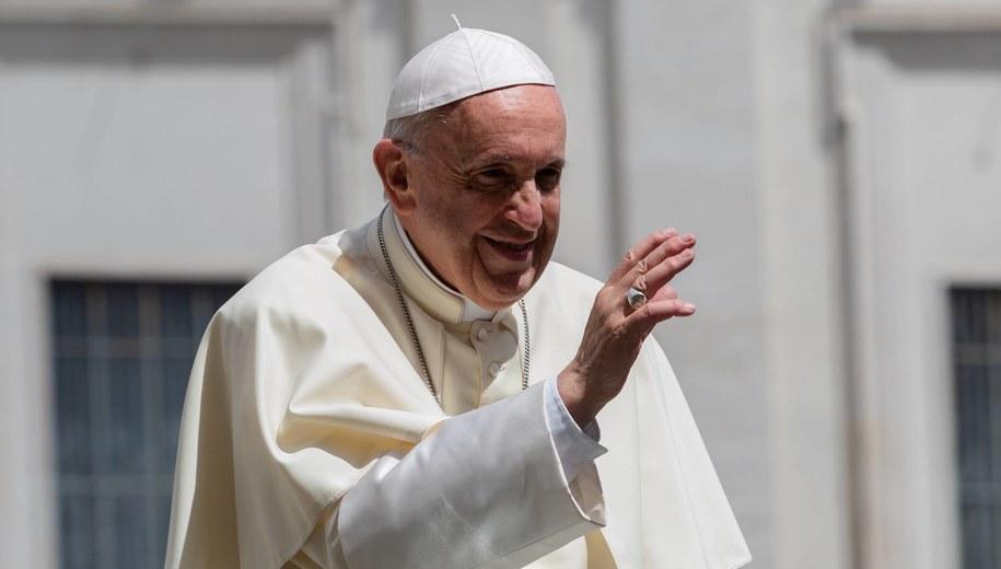 Papież Franciszek /Adam Guz /PAP