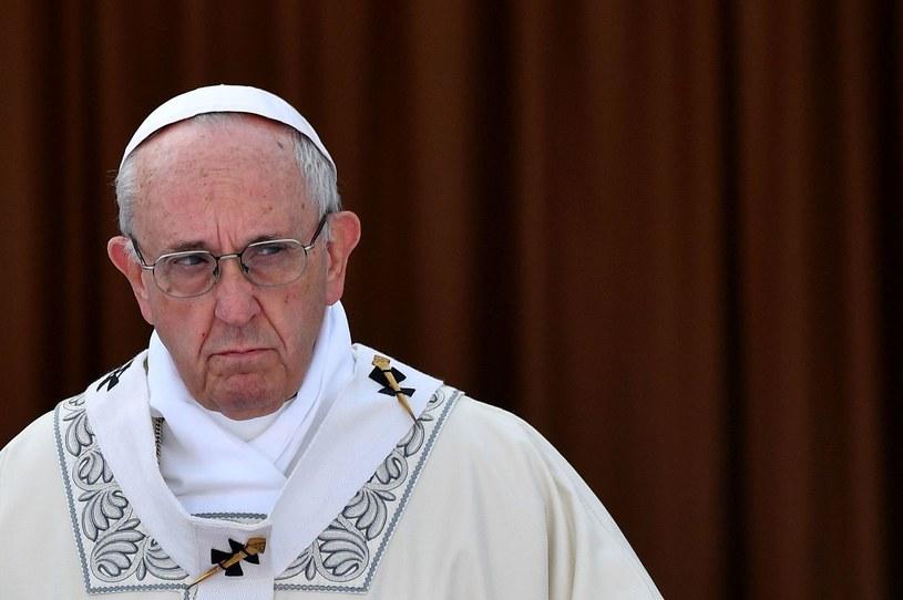 Papież Franciszek /ALBERTO PIZZOLI /AFP