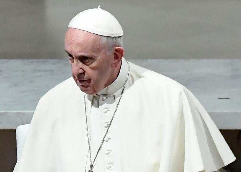Papież Franciszek / TIZIANA FABI /AFP
