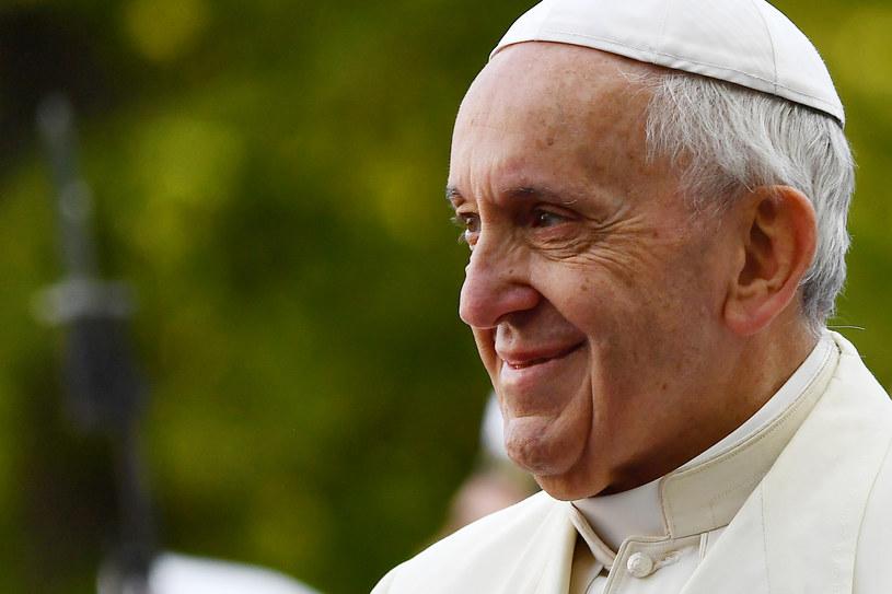 Papież Franciszek /VINCENZO PINTO /AFP