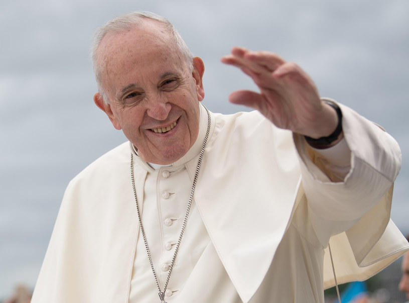 Papież Franciszek /Konrad Paprocki/REPORTER /East News