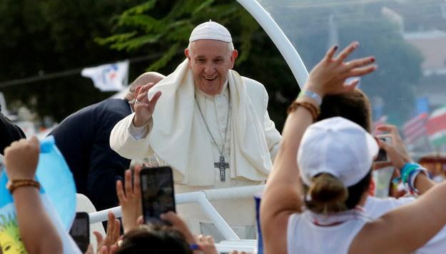 Papież Franciszek /ESTEBAN BIBA /PAP/EPA