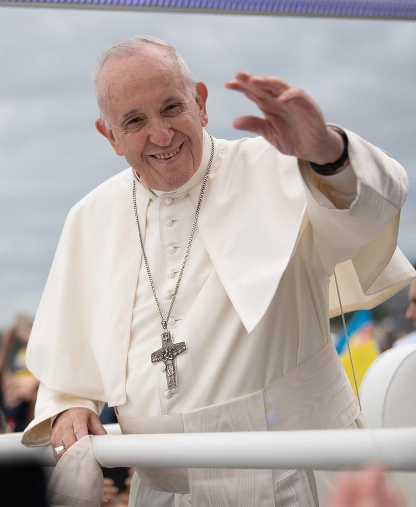 Papież Franciszek /Konrad Paprocki/REPORTER /Reporter