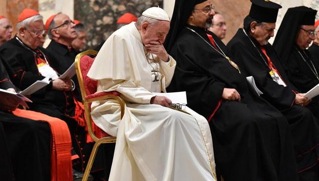Papież Franciszek /VINCENZO PINTO /PAP/EPA