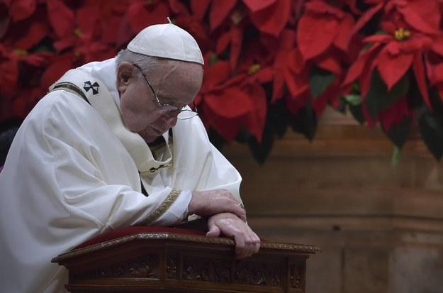 Papież Franciszek /Stefano Spaziani /PAP/Newscom