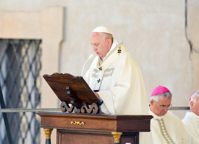 Papież Franciszek /FABIO FALCIONI /PAP/EPA
