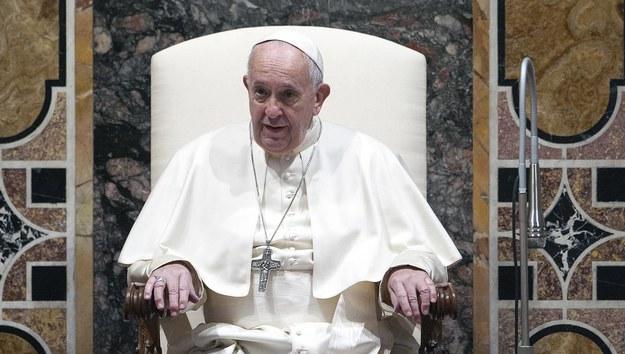 Papież Franciszek /Abaca /PAP/EPA