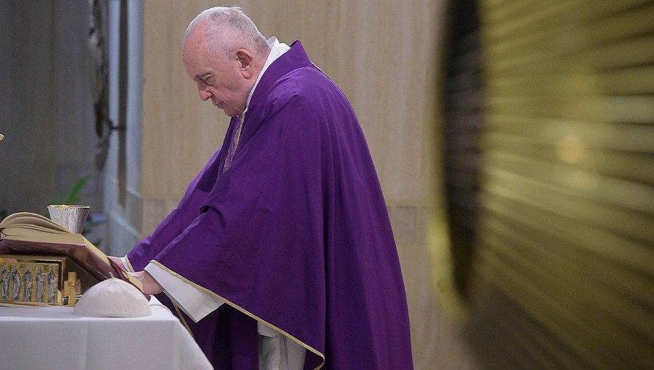 Papież Franciszek /VATICAN MEDIA HANDOUT /PAP/EPA