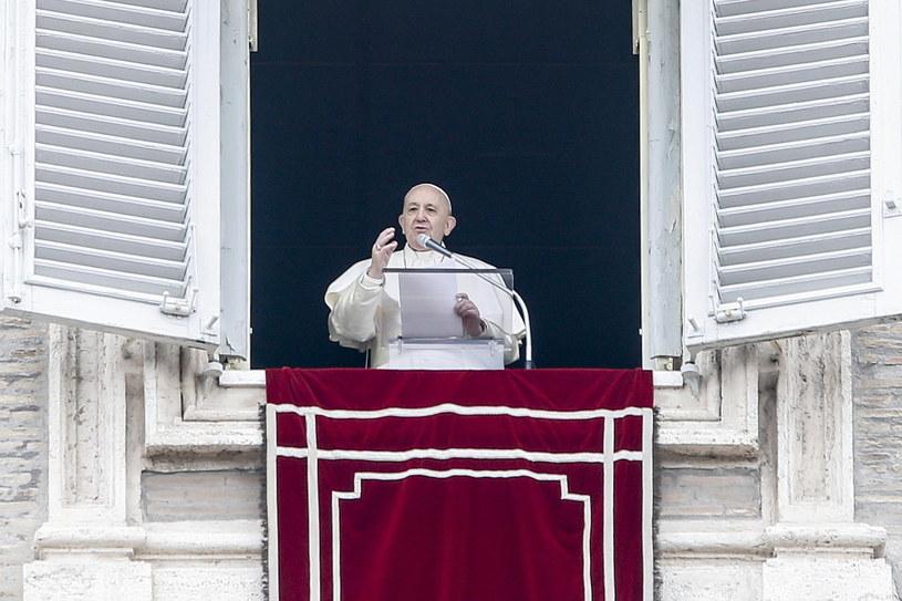 Papież Franciszek /Fabio Frustaci /PAP