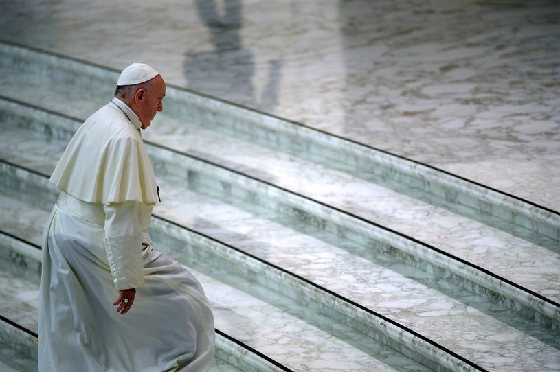 Papież Franciszek /FILIPPO MONTEFORTE /AFP