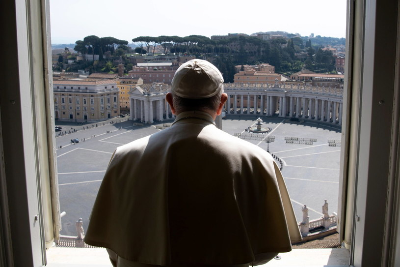 Papież Franciszek /VATICAN MEDIA  /PAP/EPA
