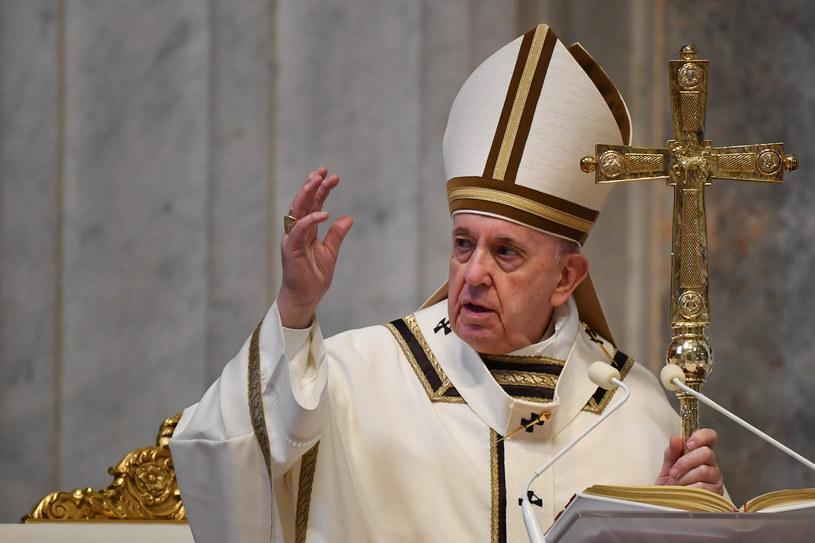 Papież Franciszek /Andreas SOLARO / POOL / AFP /AFP