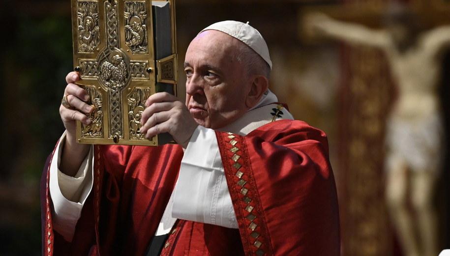 Papież Franciszek /VATICAN MEDIA HANDOUT HANDOUT EDITORIAL USE ONLY/NO SALES /PAP/EPA