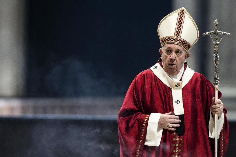 Papież Franciszek /ANGELO CARCONI /AFP