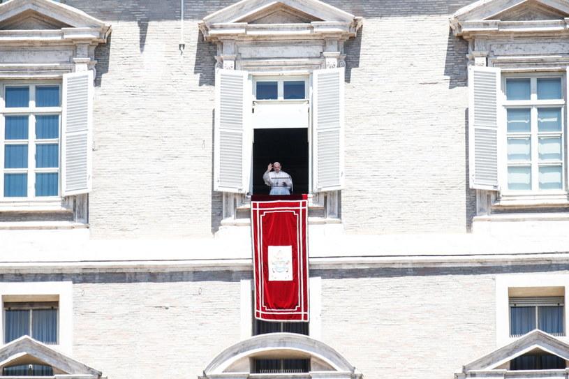 Papież Franciszek /GIUSEPPE LAMI /PAP/EPA