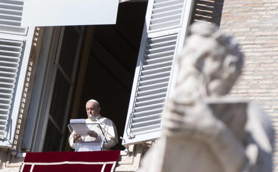 Papież Franciszek /CLAUDIO PERI /PAP/EPA