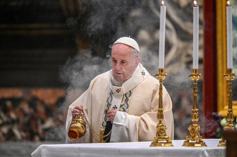 Papież Franciszek /VINCENZO PINTO /EPA