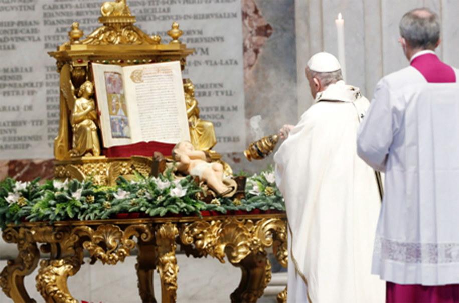 Papież Franciszek /KAMIL JASINSKI / POOL /PAP/EPA