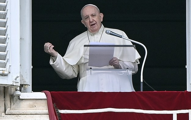 Papież Franciszek /RICCARDO ANTIMIANI /PAP/EPA