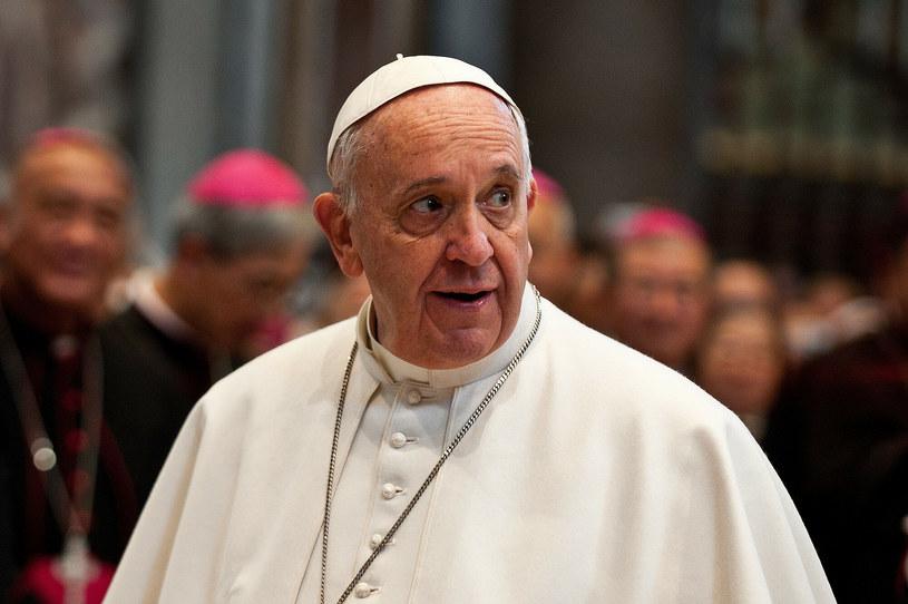 Papież Franciszek /CPP / Polaris/East News /East News