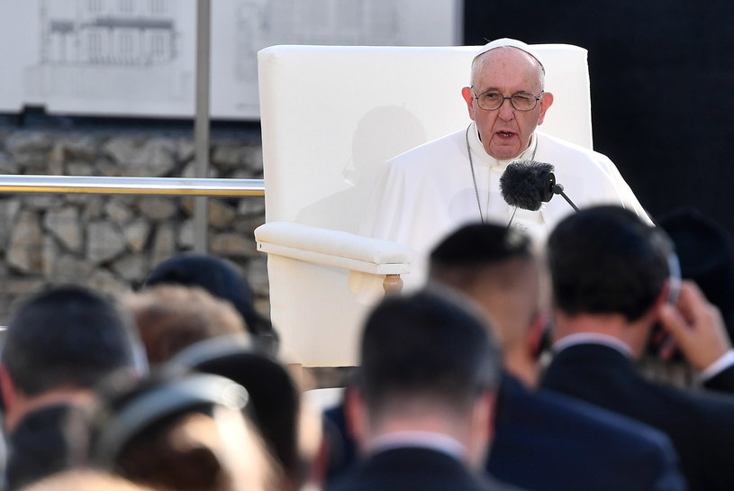 Papież Franciszek /LUCA ZENNARO /PAP/EPA