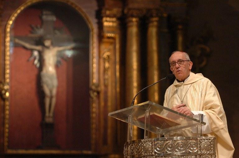 Papież Franicszek /AFP