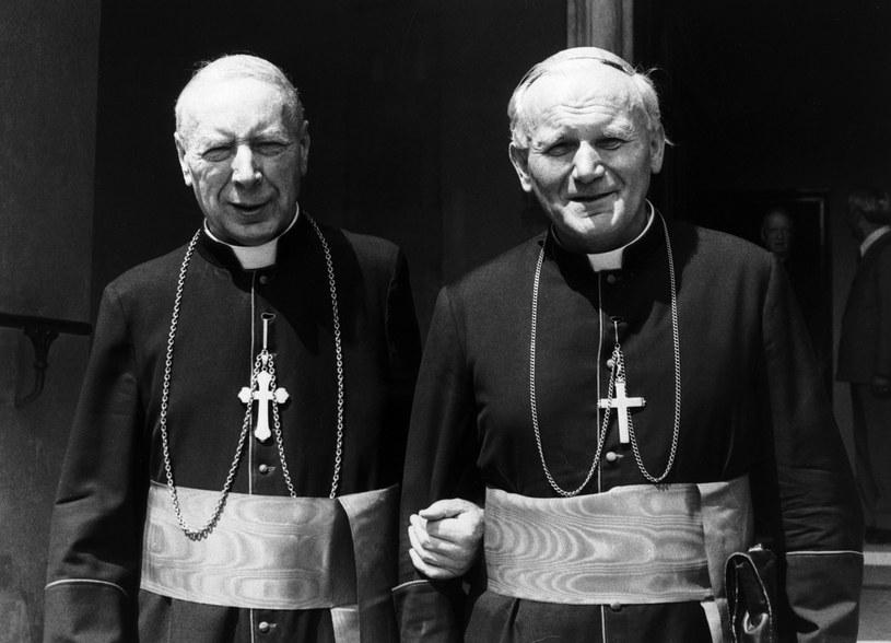 Papież i prymas pozostawali w stałym kontakcie / Bettmann / Contributor /Getty Images
