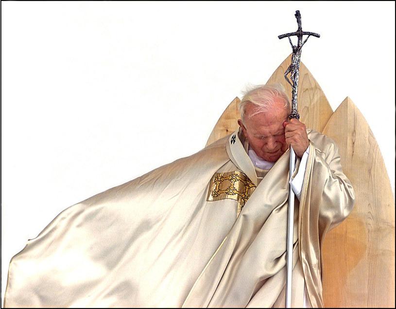 Papież Jan Paweł II /AFP