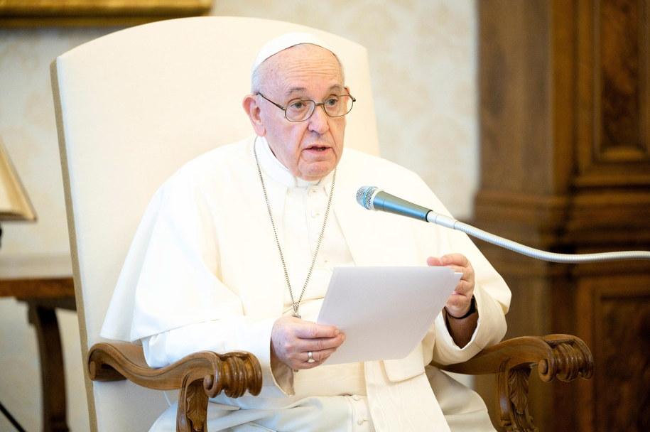 Papież: nie możemy udawać, że jesteśmy zdrowi w świecie, który jest chory /VATICAN MEDIA/HANDOUT /PAP/EPA