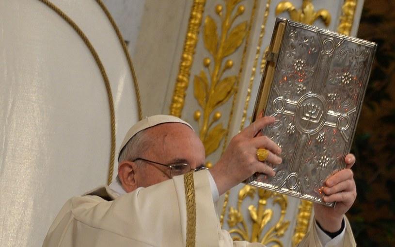 Papież o zamachu w Bostonie: bezsensowna tragedia /ANDREAS SOLARO /AFP