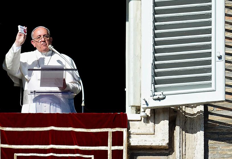 Papież polecił wiernym duchowe lekarstwo z Polski /AFP