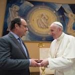 Papież przyjął Francois Hollande'a