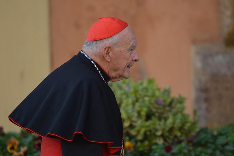 Papież przyjął rezygnację kard. McCarricka z Kolegium Kardynalskiego /VINCENZO PINTO /AFP