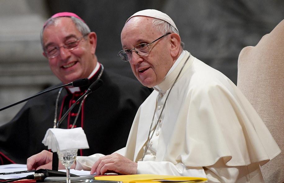 Papież rozpoczyna rozmowy z biskupami z Chile o skandalu pedofilii /CLAUDIO PERI /PAP/EPA