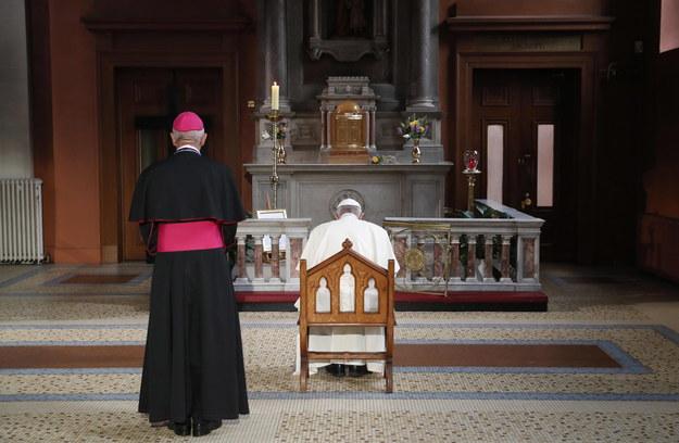 Papież spotkał się w Dublinie z ofiarami pedofilii