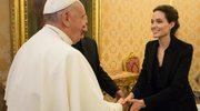 Papież spotkał się z Angeliną Jolie