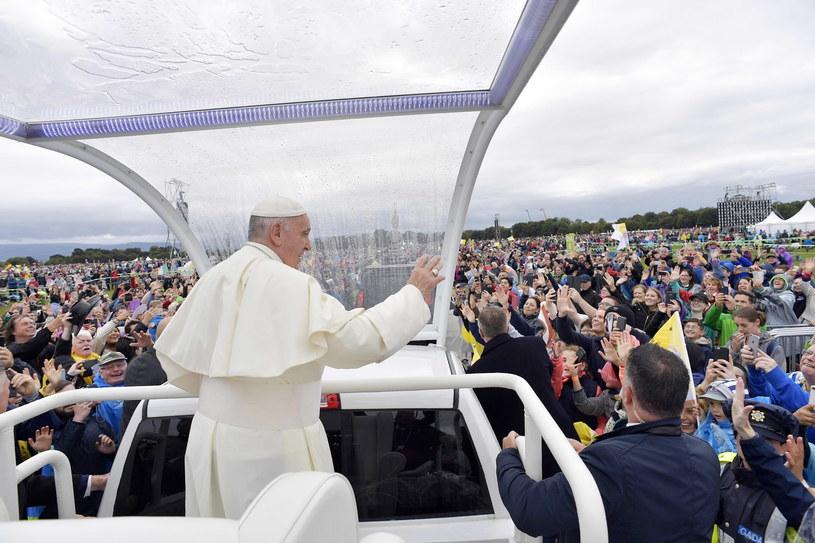 Papież w Irlandii /VATICAN MEDIA  /PAP/EPA